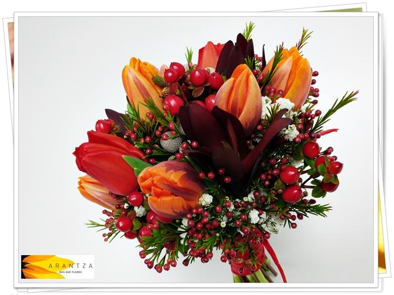 Bouquet de Novia cálido